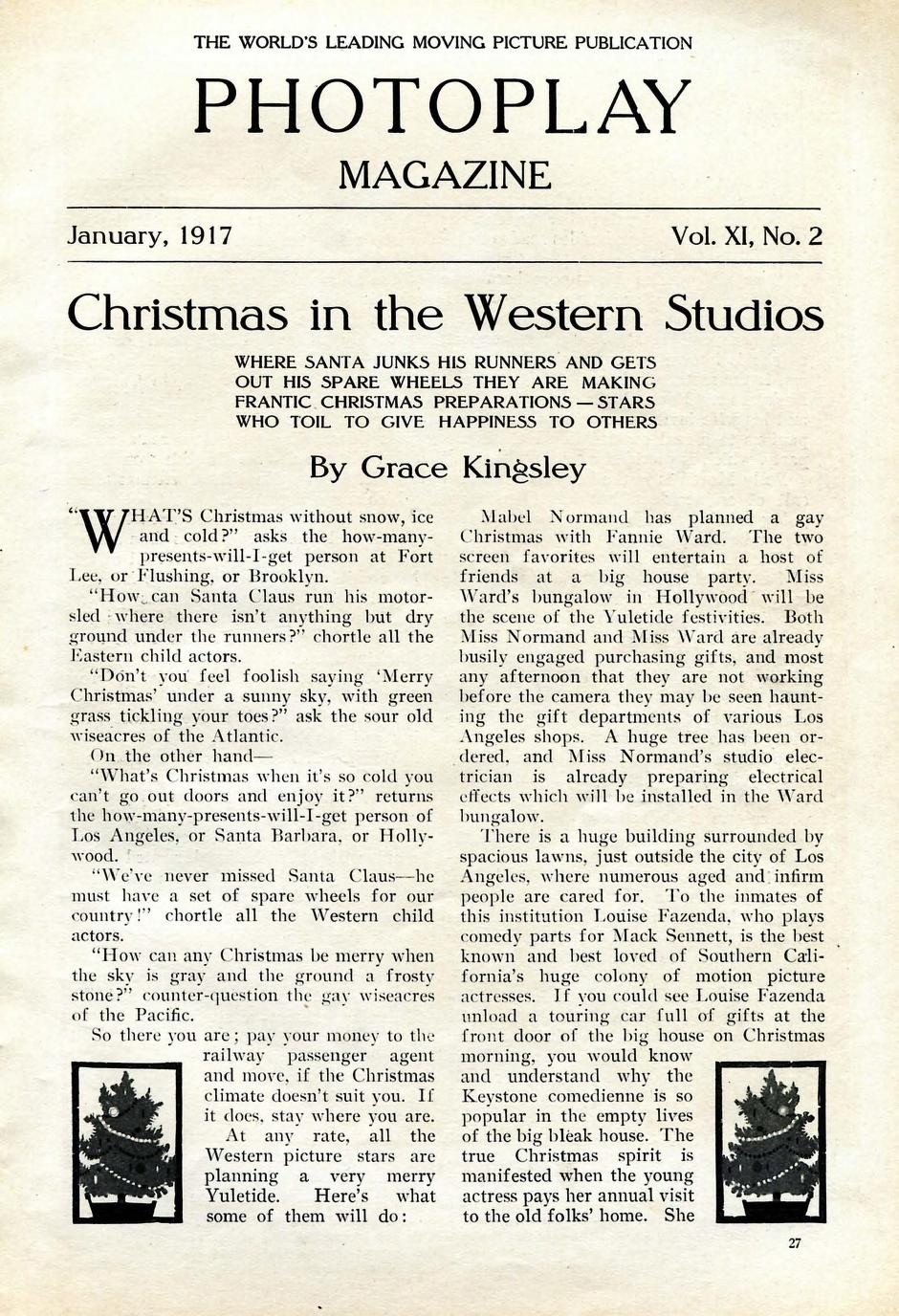 Christmas in Hollywood: Consumerism and Wholesomeness | HOLLYWOOD ...