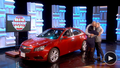 ITS ELLEN HOLLYWOOD STARDOM - Ellen degeneres show car giveaway