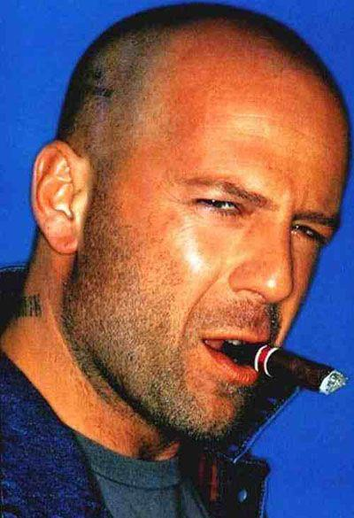 like a boss Bruce Willis
