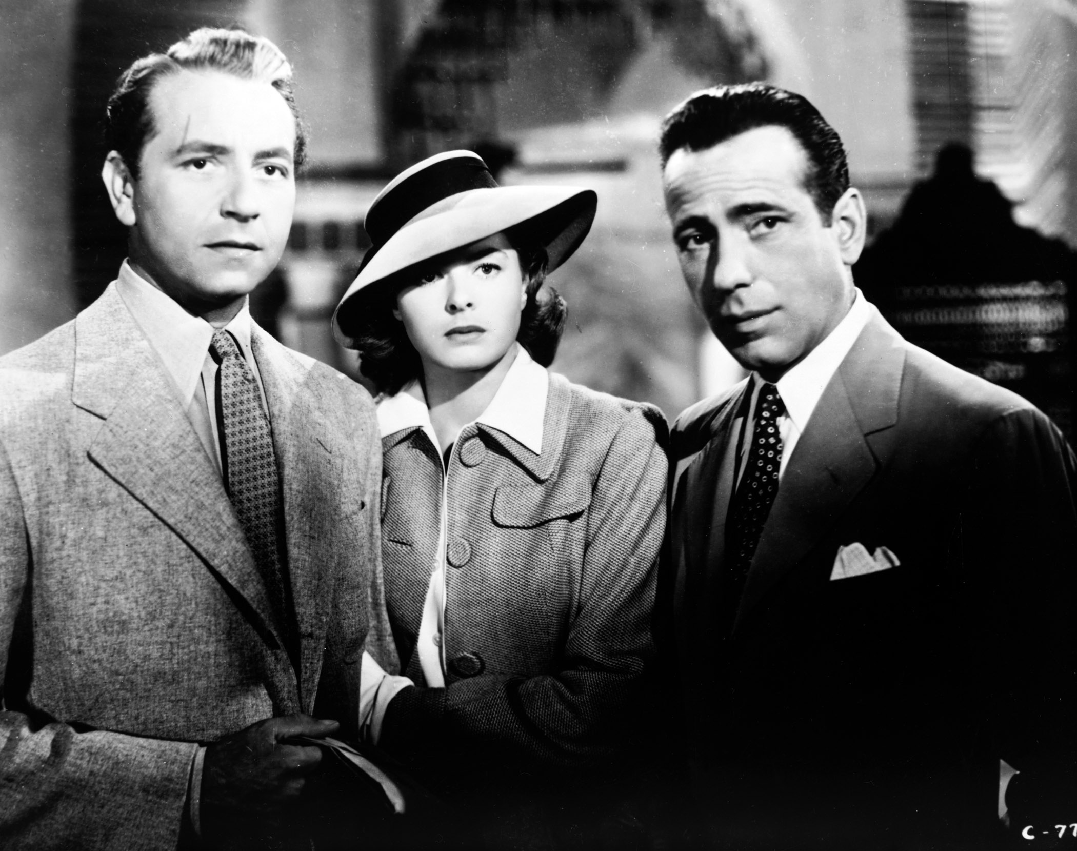 an analysis of the movie casablanca and the character of rick blaine Movies and tv shows are certified fresh with a steady tomatometer of 75% or higher after a set amount of reviews (80 for wide-release movies, 40 rick blaine: last night we said a rick blaine: i came to casablanca for the waters capt louis renault: waters we're in a desert.